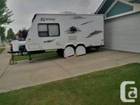 Well kept hybrid trailer with upgrades. Obtain the