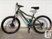 Have a 2009 Kona Five-O  Excellent condition  16""