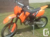 This 2009 KTM 105 XC is in very excellent condition. We