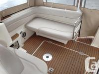 This boat is equipped with: -Twin Mercruiser 350 Mag