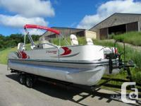 I have a 2009 ,18ft Low's Suncruiser fishing pontoon