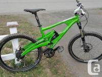 Marin Wolf Ridge 6.8 for sale. The bike is in excellent