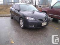 Schomberg, ON 2009 Mazda 3 GS Sedan This reliable and