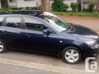 Make Mazda Model 3 Year 2009 Colour blue kms 155000