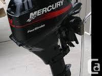 2009 merc 9.9 long shaft outboard 4 stroke motor