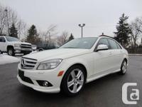 Just arrived directly from Mercedes Benz,  2009 C-300