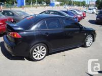 Make Mitsubishi Model Lancer Year 2009 Colour Black for sale  Ontario