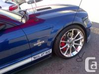 This is the 630+ HP model with the Borla exhaust! Only