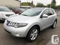 Make Nissan Model Murano Year 2009 Colour Silver kms