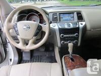 Make Nissan Model Murano Year 2009 Colour White Pearl
