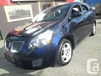 2009 PONTIAC VIBE ** All Outfitted ** 69,000 Kms ****