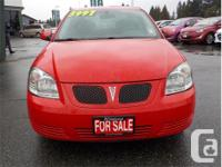 Make Pontiac Model G5 Year 2009 Colour Red kms 209000