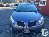 Make Pontiac Model Vibe Year 2009 Colour Blue kms