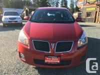 Make Pontiac Model Vibe Year 2009 Colour Red kms