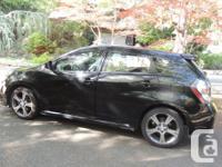 Make Pontiac Model Vibe Colour metallic black Trans
