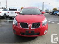 Make Pontiac Model Vibe Year 2009 Colour Red kms 44840