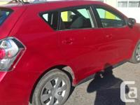Make Pontiac Model Vibe Colour red Trans Manual kms