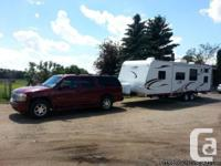 2009 R-Vision Trail-Lite TL30BH 30ft Trip trailer, bunk