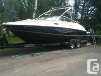 We are selling our 2009 Regal 2400 due to lack of free