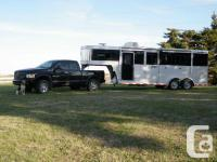 2009 Blue Ribbon 3 horse angle trailer with living