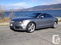 Audi S5 Spick-and-span, No Crashes, No Door Dents, Non