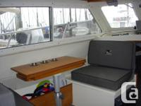 Dual stations, power windlass, twin yamaha 150's with