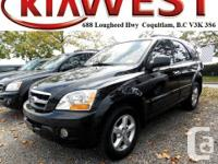 This 2009 Kia Sorento LX simply came in prepared to be