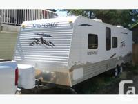 1 owner bought new 26' travel trailer + 4' tongue total