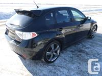 Make Subaru Model Impreza WRX Year 2009 Colour Black
