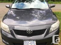 Make Toyota Model Corolla CE Year 2009 Colour Grey kms