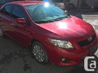Make Toyota Model Corolla Colour RED kms 122000