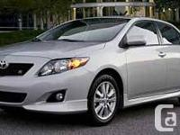 2009 Toyota Corolla S, Grate on gas, maintenance done