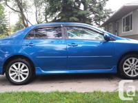 Make Toyota Model Corolla Year 2009 Colour Blue kms