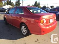 Make Toyota Model Corolla Year 2009 Colour Red kms