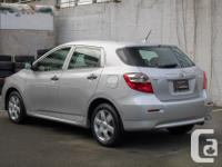 Make Toyota Model Matrix Year 2009 Colour Silver kms