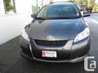 Make Toyota Model Matrix Year 2009 Colour Grey kms