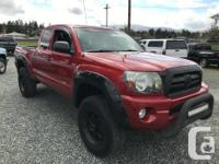 Make Toyota Model Tacoma Year 2009 Colour RED kms