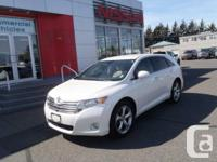 This Toyota Venza wagon is equipped with a V6 engine