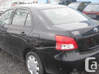 Make Toyota Model Yaris Year 2009 Colour BLACK kms
