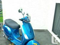 2009 Vespa LX 50 Piaggio with 2,550 KMs. Originally