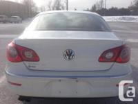 Make Volkswagen Model Passat CC Year 2009 Colour white