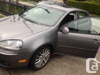 2009 GREY VW RABBIT AUTOMATIC 4 DOOR in AWESOME