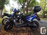 This is a 2009 Yamaha BWS with 7000 kms. Looking to