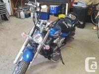 Only $5800 ~ 2009 Yamaha V-Star 950 Blue with Black