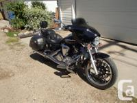 PRICE REDUCED. 2009 Yamaha V star 950 Tourer - Black.