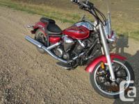 Make Yamaha Model V-Star Year 2009 kms 30000 I have a