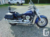 Like new 2009 Yamaha V Star with only 294 original kms.