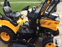 "Yanmar by Cub Cadet, 24 hp. diesel, with 60"" belly"
