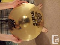 """For sale I have:.  16"""" Sabian - AAX X-Plosion Collision"""