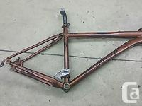 This is for a Specialized Rockhopper Pro M4 Bike Frame